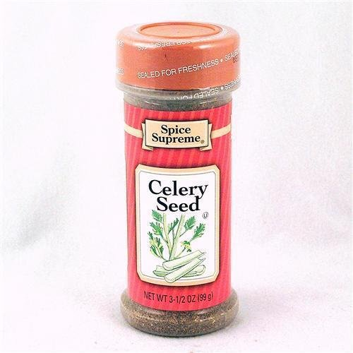 Spice Supreme Celery Seed, Whole, 3.5-Ounce (Pack