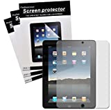 51ZvIOvrjyL. SL160  CrazyOnDigital Screen Protector Film CLEAR (Invisible) OR MATTE (Anti Glare) for The New iPad 3rd Gen 2012 Model & Apple iPad 2 / iPad 3 3rd Generation / iPad HD AT&T Verizon 4G LTE (3 pack)