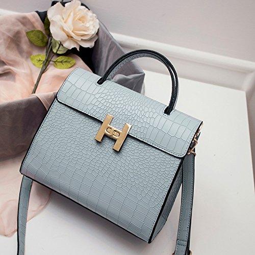 GQ-WOMEN BAG MS 2016 new donna pelle borsa borsetta in pelle Messenger bag , light blue