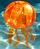 Inflatable Jellyfish Pool Light (Orange)