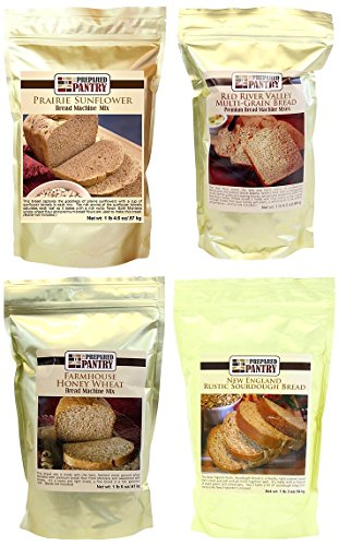 The Prepared Pantry Settler's Bread Mix Collection, 84.4 Ounce (Bread Machine Mixes Variety Packs compare prices)