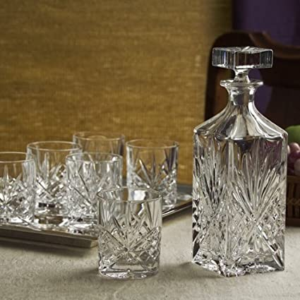Dublin Crystal 8 Piece Whiskey Set
