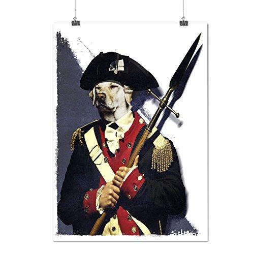 Napoleone Guardia Cane dovere Opaco/Lucida Poster A3 (42cm x 30cm) | Wellcoda