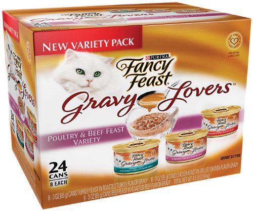 Fancy Feast Gravy Lovers Cat Food Variety Pack,