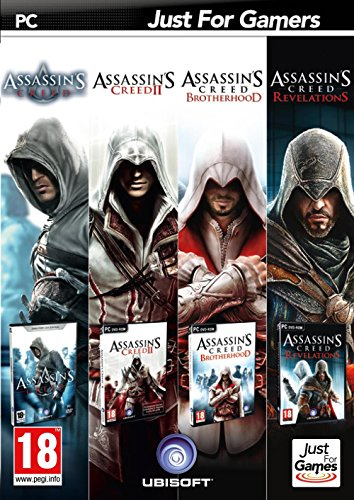 ASSASSIN'S CREED ULTIMATE COLLECTION [PC GAMES] 4 GIOCHI COMPLETI [Edizione: Francia]