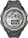Timex Men's T5K594 1440 Sports Digital Full-Size Gray Resin Strap Watch