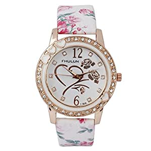 Addic Flower Strap And Dial Classy Watch For Women