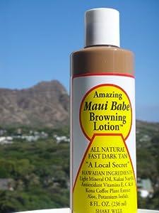 Maui Babe Browning Lotion, 8 Fluid Ounce