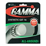 Gamma Synthetic Gut 16G Tennis String...