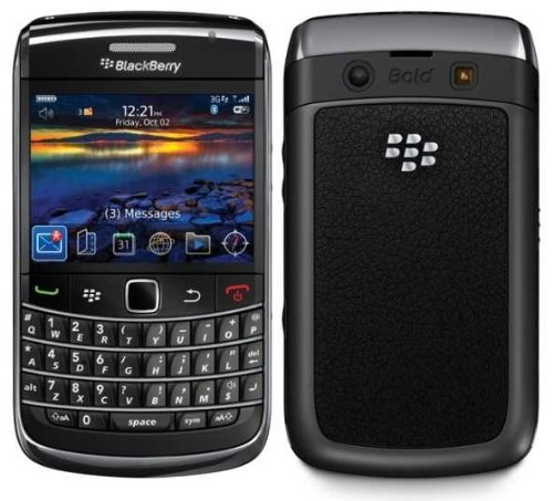 BlackBerry Bold 9700 – Smartphone – 3G – WCDMA (UMTS) / GSM – QWERTY – BlackBerry OS – black