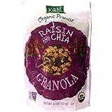Kashi Raisin And Chia Granola Cereal, 11 Oz Bags (2 Pack)