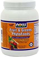 Now Foods Fruit And Greens Phytofoods Powder, 2-Pound
