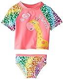 Wippette Baby Girls' Giraffe Rash Set