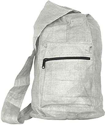 Hemp Courier Bag (natural)