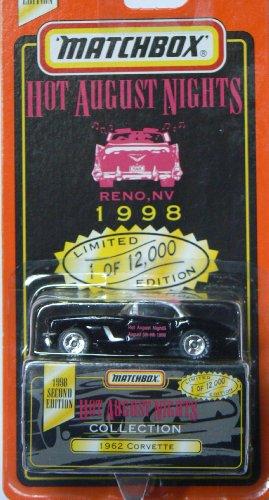 Matchbox Hot August Nights 1962 Corvette