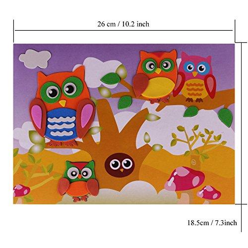 rolimate 20 pcs educational preschool diy 3d eva foam art. Black Bedroom Furniture Sets. Home Design Ideas