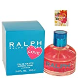 Ralph Lauren Love Perfume By Ralph Lauren Eau De Toilette Spray For Women 3.4 oz. 100 ml. + Free! Sample Perfume Desigual Fresh 0.05 oz Vial (Tamaño: 3.4 Ounces)