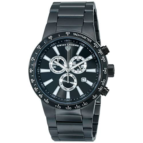 SWISS LEGEND Endurance 10057-BB-11 47 Stainless Steel Mineral Men's Quartz Watch