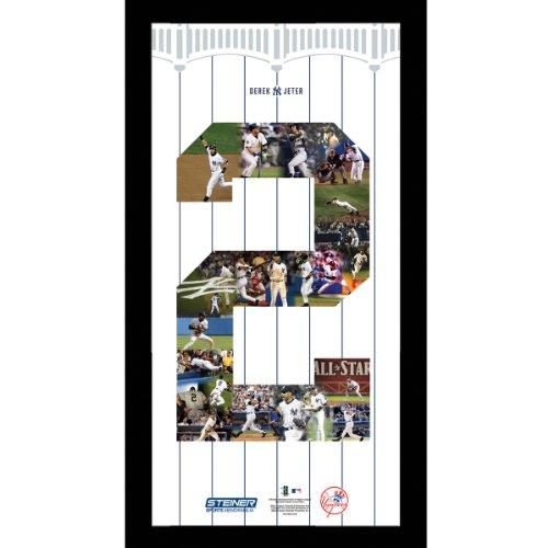 Derek Jeter #2 Jeter Number Framed 11X14 Collage front-931486