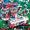 Spring Loaded Patriotic Party Poppers No gunpowder  12 pc