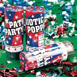 Patriotic Confetti Cannon