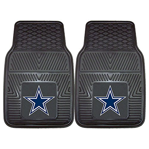 FANMATS NFL Dallas Cowboys Vinyl Heavy Duty Car Mat,Set of two. (Nfl Truck Accessories compare prices)