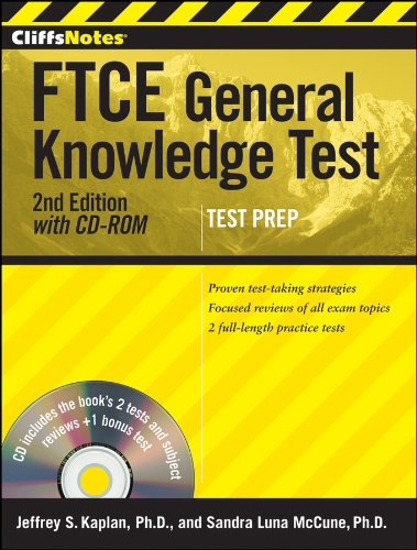 CliffsNotes FTCE General Knowledge Test, with CD-ROM