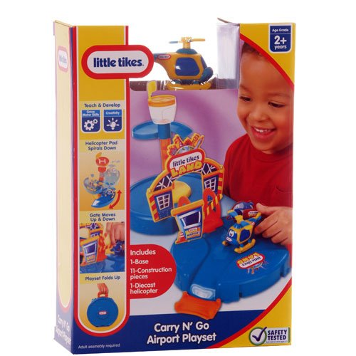 Little Tikes Carry 'N Go Airport Playset - 1