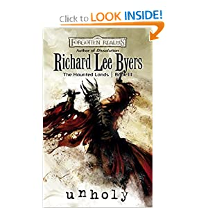 Unholy: Haunted Lands, Book III (The Haunted Lands) by Richard Lee Byers