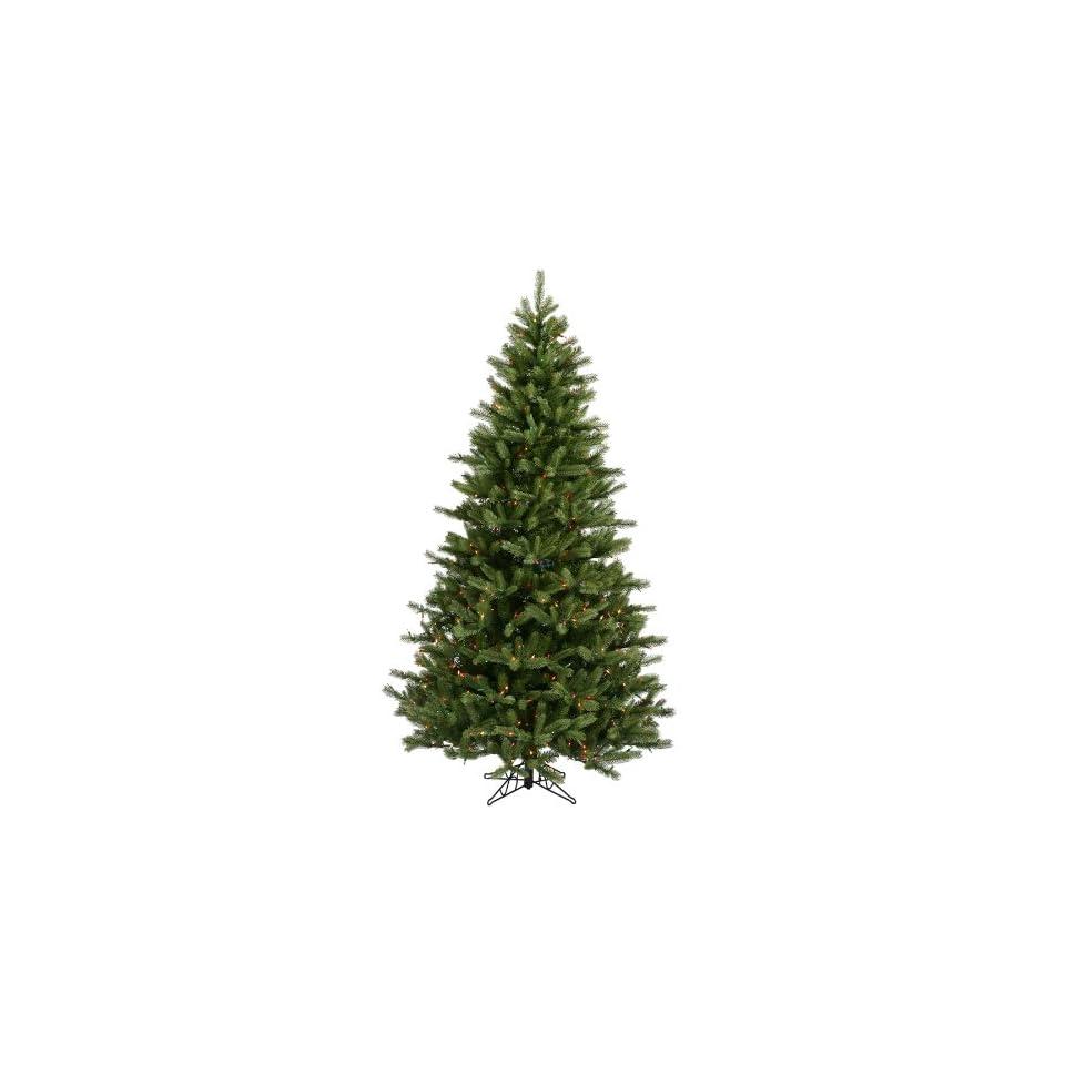Vickerman 16089   7.5 x 54 Black Hills Spruce 700 Multi Color Lights Christmas Tree (A894177)