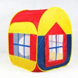 BATTOP Large Space Indoor and Outdoor 1 to 7 Years Old Children Game Play Tent With 2-Doors (General Style)