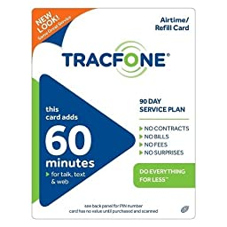 Tracfone 60 Minutes Plus 90 Days of Service