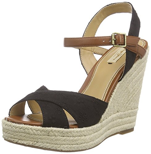 Pepe JeansWalker Romantic - Espadrillas Donna , Nero (Noir (999 Black)), 37