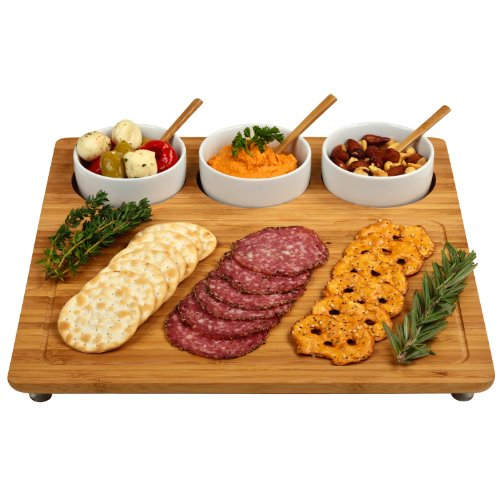 Why Choose Picnic at Ascot Three Bowl Entertaining Set, Bamboo