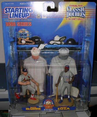 "STARTING LINEUP "" McGWIRE & SOSA "" HOME RUN HISTORY 1998 MOC"