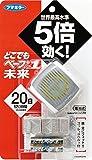 Amazon.co.jpどこでもベープ 携帯虫よけ №1未来セット メタリックグレー 本体+取替