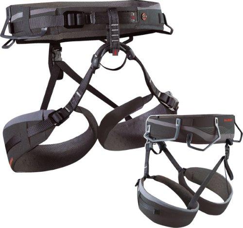 Mammut Herren Klettergurt Togir Slide Seat, basalt-grey, XXL, 2110-00910-7110-115