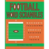 Football Word Scrambles: Puzzles for Sports Fans ~ Chris McMullen