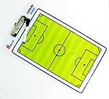 サッカー 作戦盤 作戦ボード コーチングボード 収納袋付き セット (バインダー式)