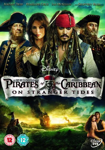 Pirates of the Caribbean: On Stranger Tides [DVD]