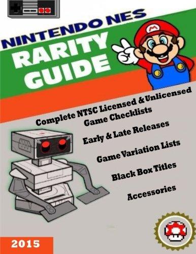 Nintendo (Nes) Rarity Guide front-1031212