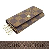 ルイヴィトン LOUIS VUITTON キーケース ヴィトン ダミエ ミュルティクレ4 4連キーケース メンズ レディース N62631
