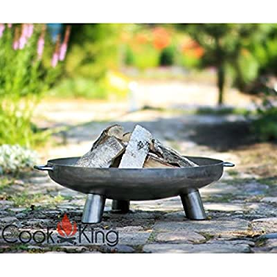 Bali Steel Fire Pit With 80cm Fire Bowl from Cook King