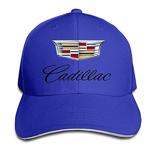 MaNeg Cadillac Logo Sandwich Peaked Hat & Cap (Louis Vuitton Cap compare prices)