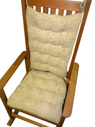 Chair Rocking Chair Cushion Set – Great Deals Neutral Chenil