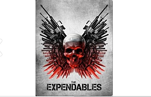 The Expendables Exclusive Limited Edition Steelbook (Blu Ray + Digital HD)