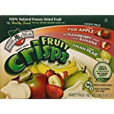 Brothers All Natural Fruit Crisps Variety Pack 5.93oz (Fuji Apple, Strawberry and Banana, Asian Pear)