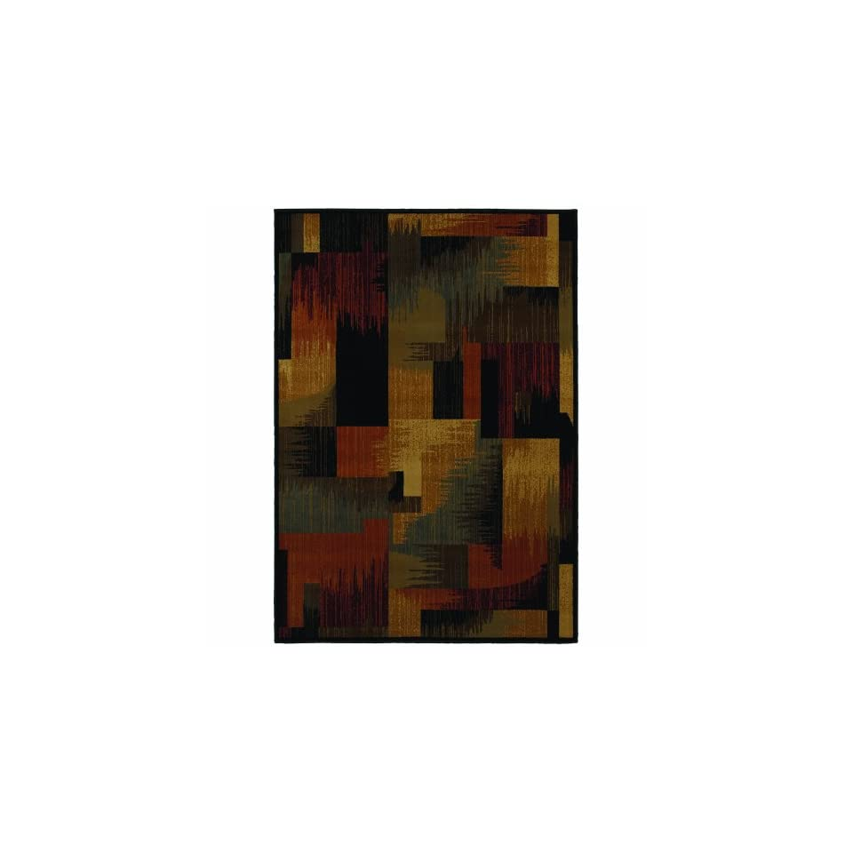 Shaw Living Wood Blocks Area Rug Collection, 2 Foot 3 Inch by 7 Foot 8 Inch