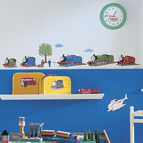 Roommates Rmk1035Scs Thomas The Tank Engine And Friends Peel And Stick Wall Decals front-1024328