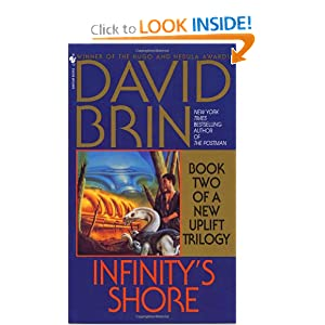 Infinity's Shore (The Uplift Trilogy, Book 2) by David Brin